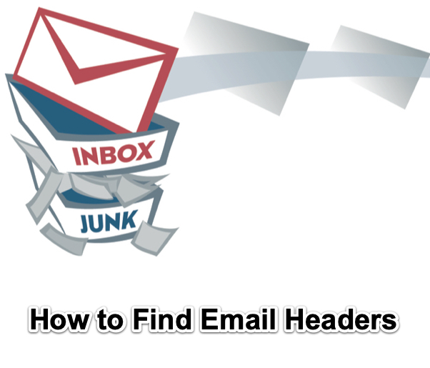 how to find email headers