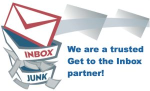 we are a trusted get to the inbox partner